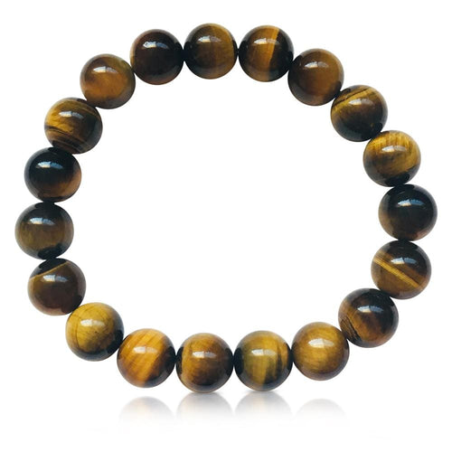 Tiger Eye Yoga Inspired Grounding Bracelet