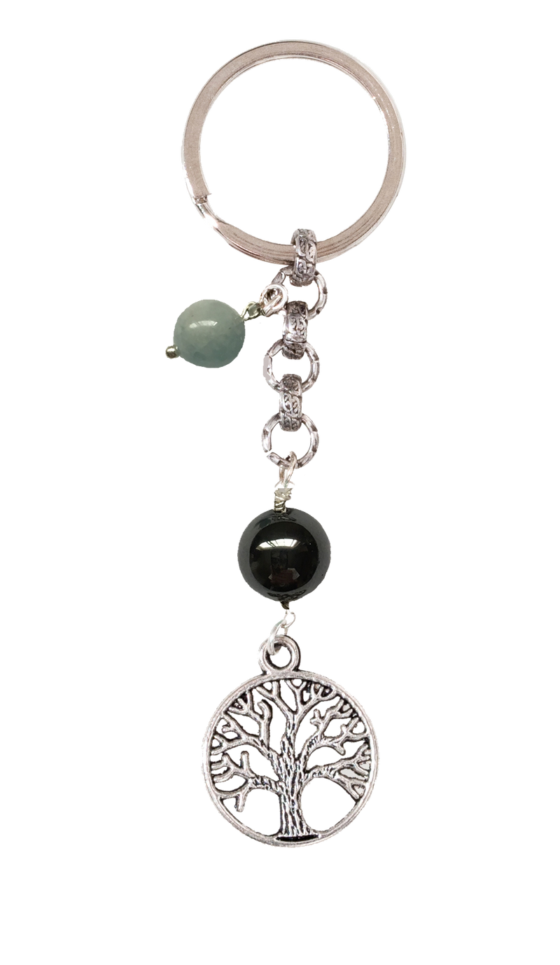 Tree of Life Keychain for Grounding