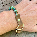 African Turquoise Serenity Bracelet to Bring Good Fortune