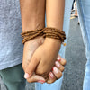 Wood Wrap Bracelet for Wisdom