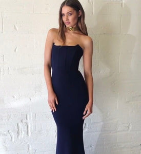 Zachary The Label - Elvira Gown Navy (6-8)