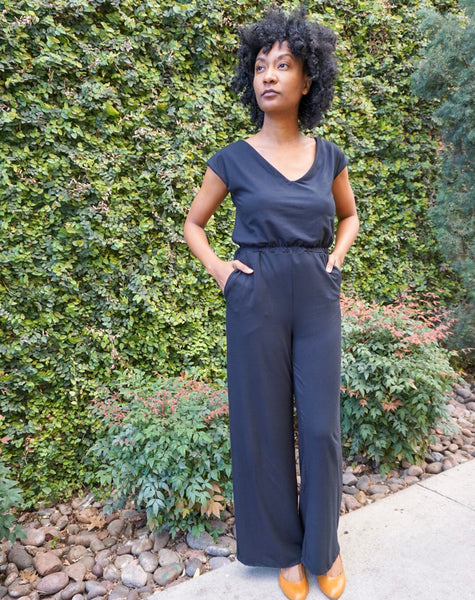 Grey Bird Jumpsuit