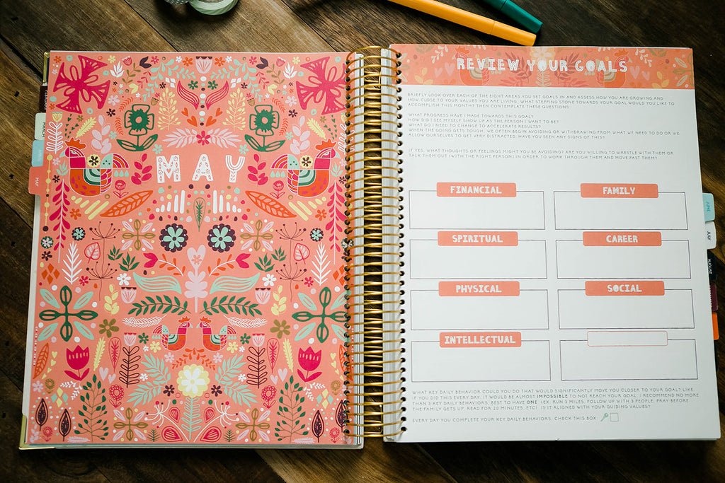 Bulk order of 10 Sol Planners (Undated)