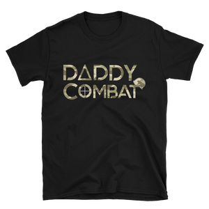 Daddy Combat Camo Short-Sleeve Unisex T-Shirt