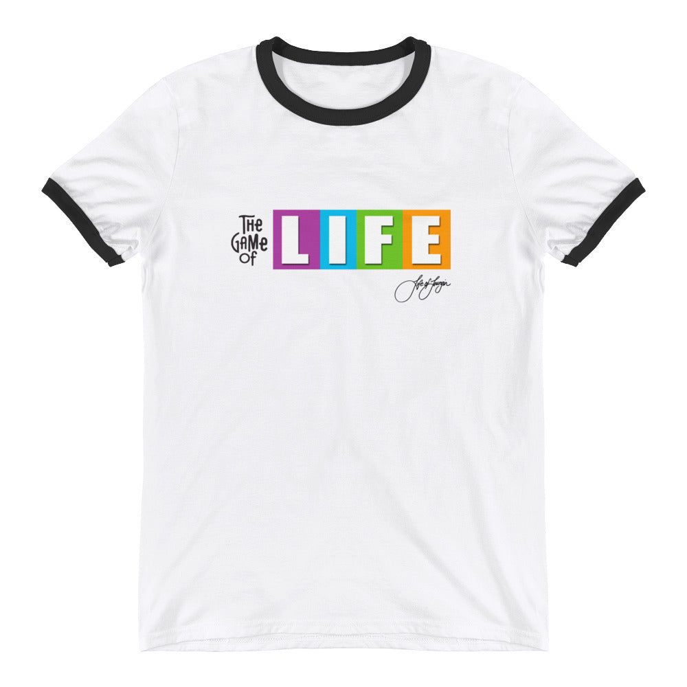 The Game of Life Ringer Tee - Life of Loungin