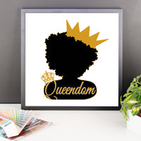 Queendom Poster - Life of Loungin