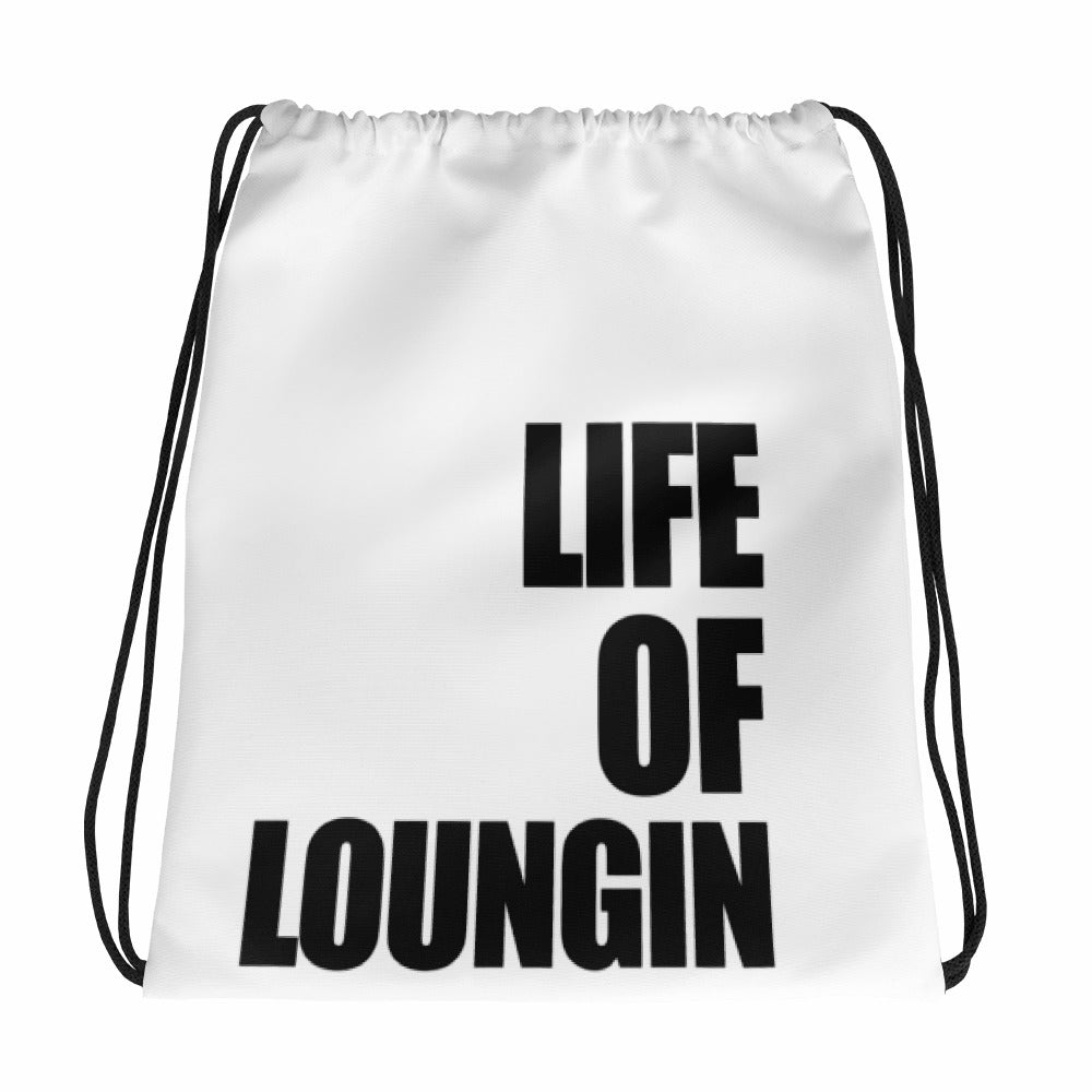 Life of Loungin Drawstring Bag - Life of Loungin