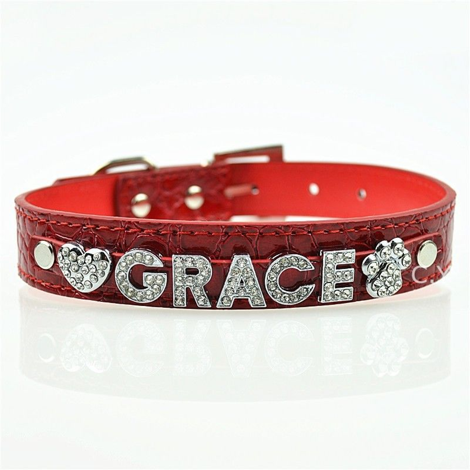 personalized dog collars twin dogs