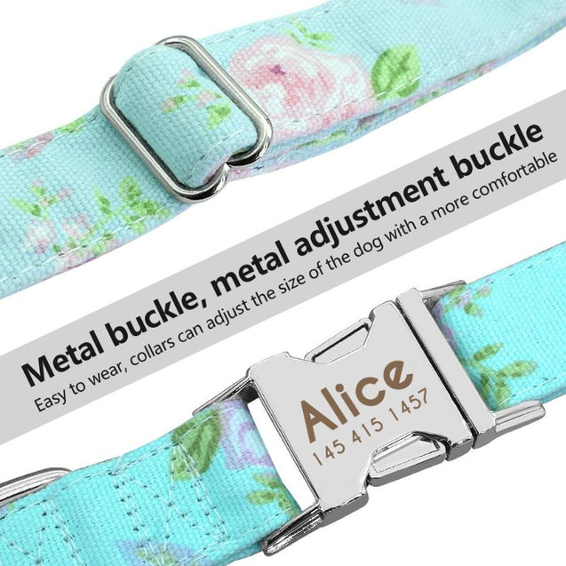 Personalized Nylon Pet Collar