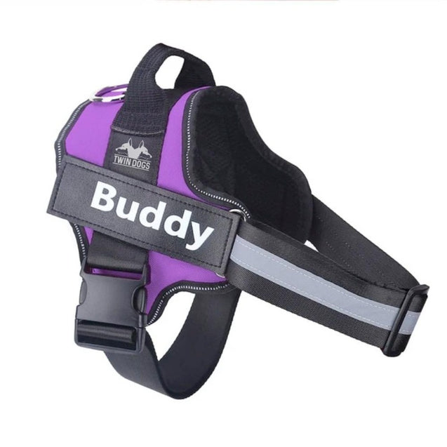 Personalized No Pull Reflective Harness