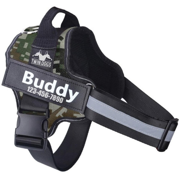No Pull Easy Walk Personalized Dog Harness