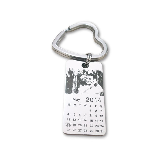 Emotions Filled - Personalized Calendar Keychain