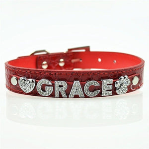 free personalized dog collars twin dogs