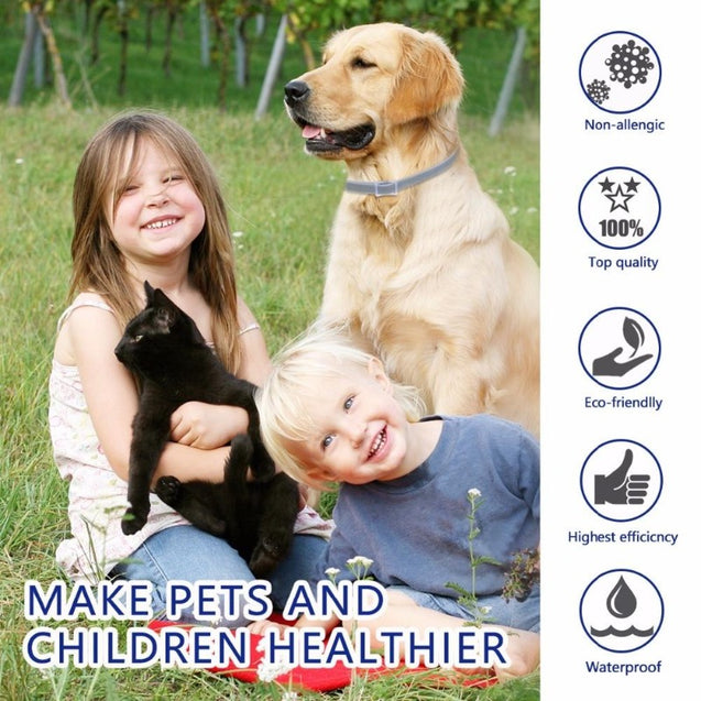 Pet anti flea tick small large collar for cats, puppies and dogs