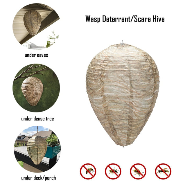 HANGING WASP AND BEE NEST TRAP