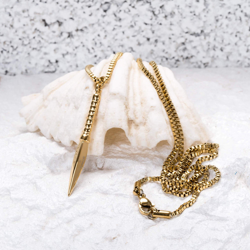 The Viking Necklace in Gold