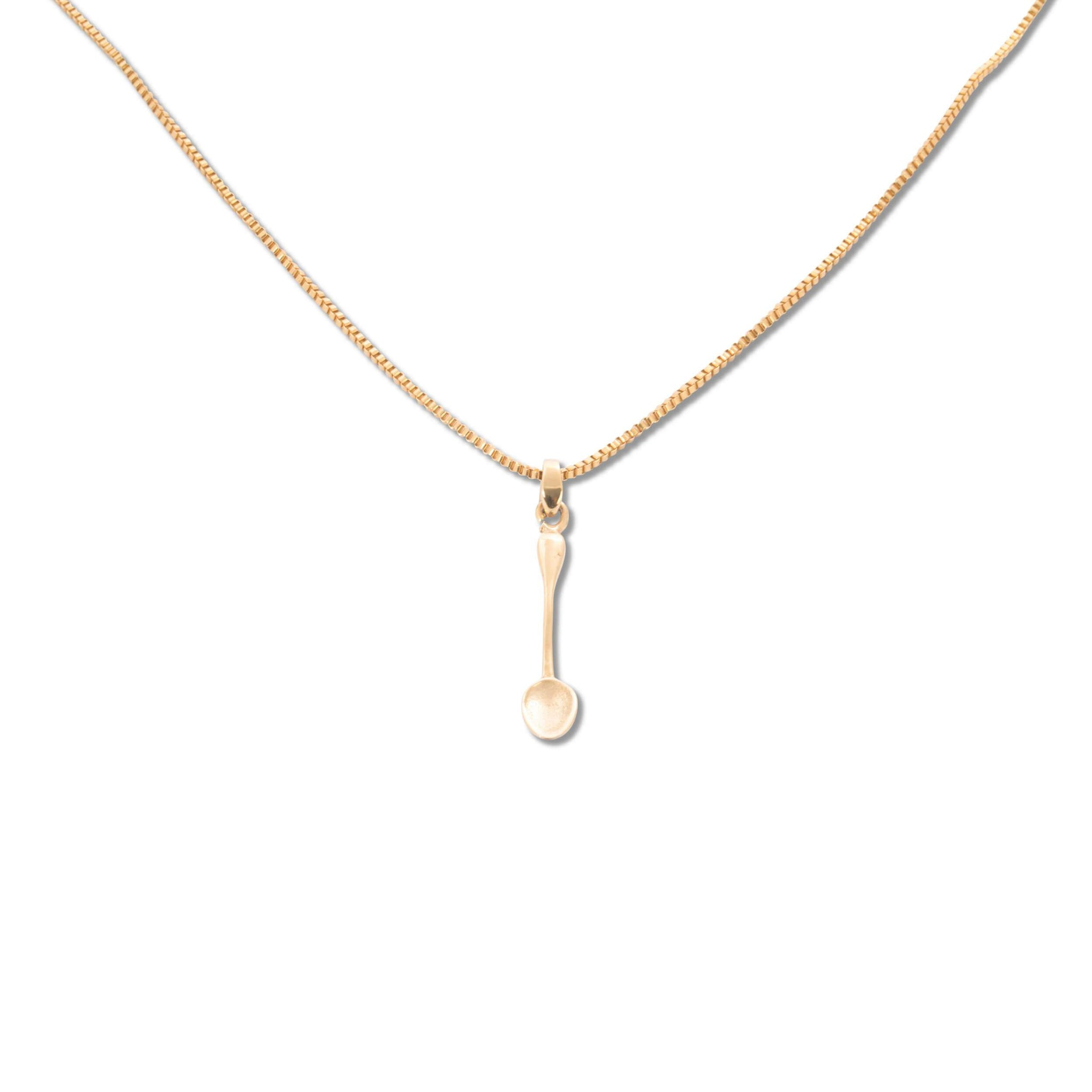 Ainker Spoon Necklace in Gold