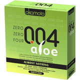 Okamoto 004 Aloe Zero Zero Zero Four Condoms 24 pack