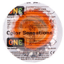 One Color Sensations Condoms
