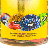 One 576 Sensations Condoms Bowl of 100