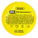 One 576 Sensations Condoms