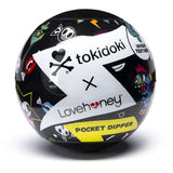 Tokidoki Textured Pleasure Cup Crossbones Clear Masturbator Sleeve