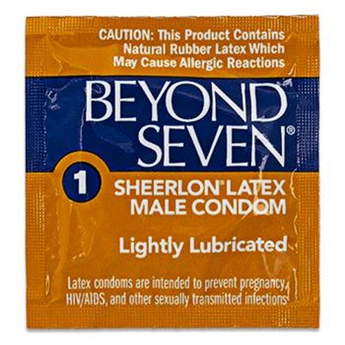 Beyond Seven Lightly Lubed Condoms