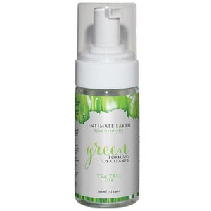 Intimate Earth Green Tea Tree Foaming Toy Cleaner 3.4 oz.