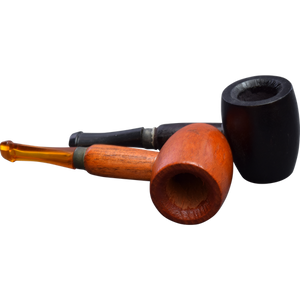 Mini Maple & Cherry Wood Affordable Hand Pipe for Smoking Use