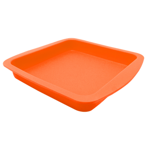 "Affordable 7.5""x8"" Square Silicone Tray Mixed Colors  ideal for smoking"