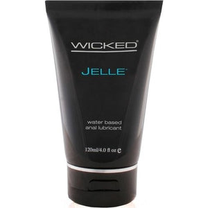 Wicked Sensual Care Jelle Water Based Anal Lubricant Unscented 4 oz
