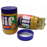 Affordable Jiffy Peanut Butter stash can ideal for smoking and hiding your treasures