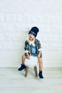 tomboy kids fashion camo print