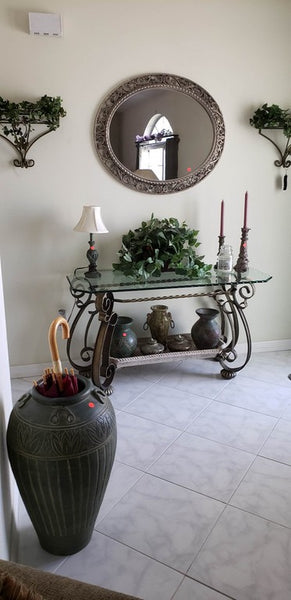 """Mediterranean & More"" -   Neoclassical Style Mix w African Prints & Decor, Rattan Sale"