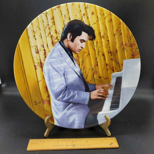 "Elvis Collector Plate ""His Hand In Mine"""