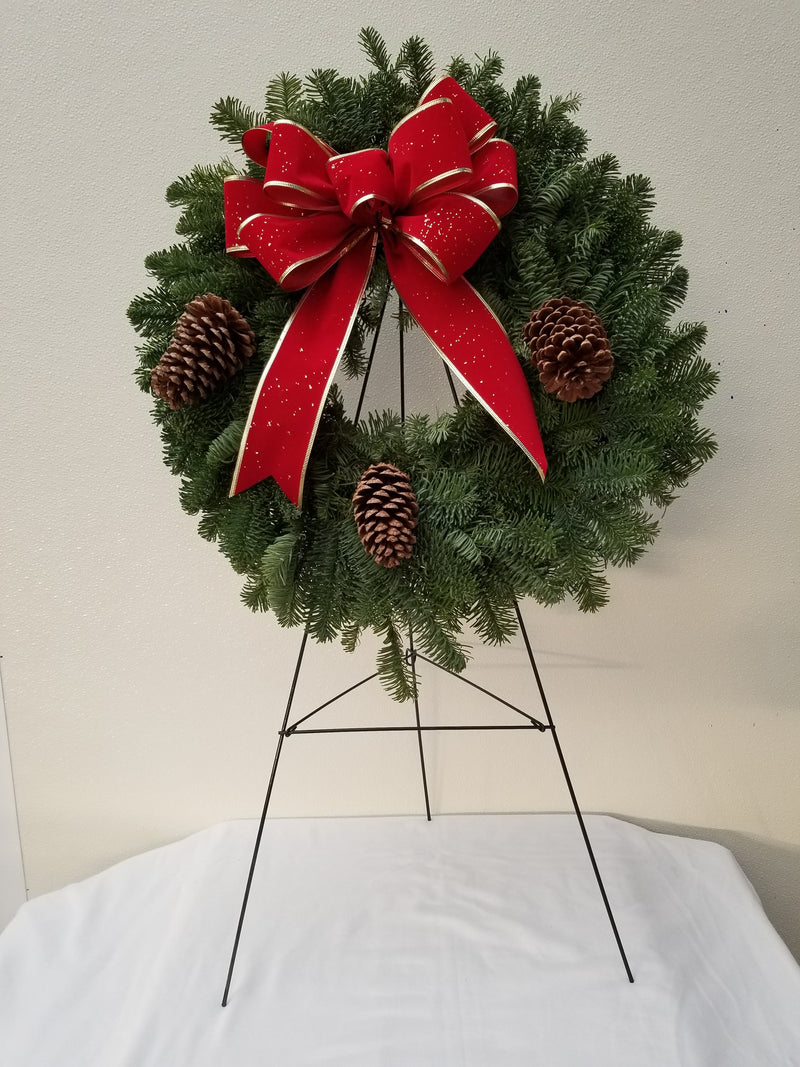 Fresh Cemetery Wreath