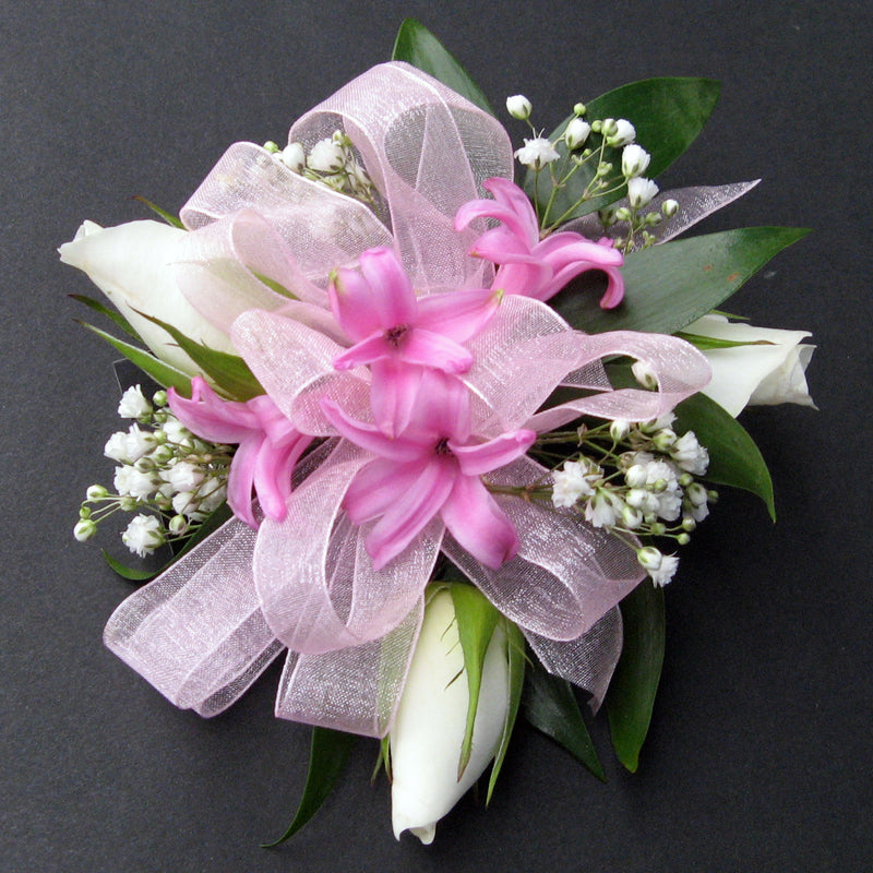 Pink Whisper Corsage