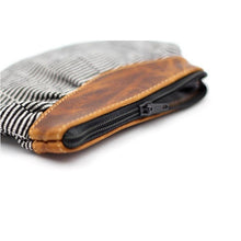 Load image into Gallery viewer, cuarteado coin purse zoom in zipper