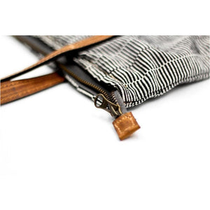 cuarteado purse zoom zipper
