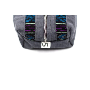 uq k'iche travel pouch zoom tag