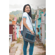 Load image into Gallery viewer, uq k'iche messenger bag w model