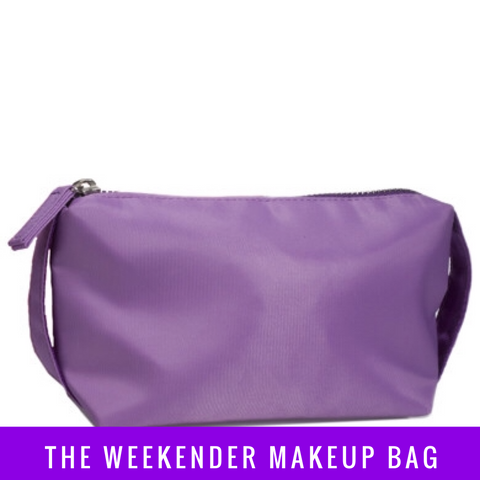 The Weekender Makeup Bag