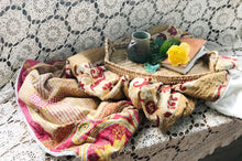 Burnt Ember Sherpa Kantha Throw
