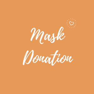 Face Mask DONATION - 10 Masks