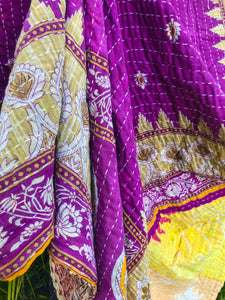 Silk Road Kantha Quilt