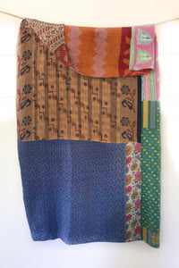 Fairlight Kantha Quilt
