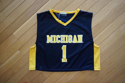 Cropped Basketball Jersey