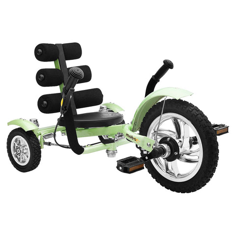 "Asa Products Tri-601G Mobo Mini Tri-601G The Smallest Luxury Cruiser 12"" - Green - FunRidingToys.com"