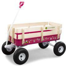 Tomy International 46449 John Deere Stake Wagon - Pink - Peazz.com
