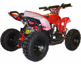 MotoTec MT-ATV3_Red Mini Electric Quad Battery-Powered v3 Red